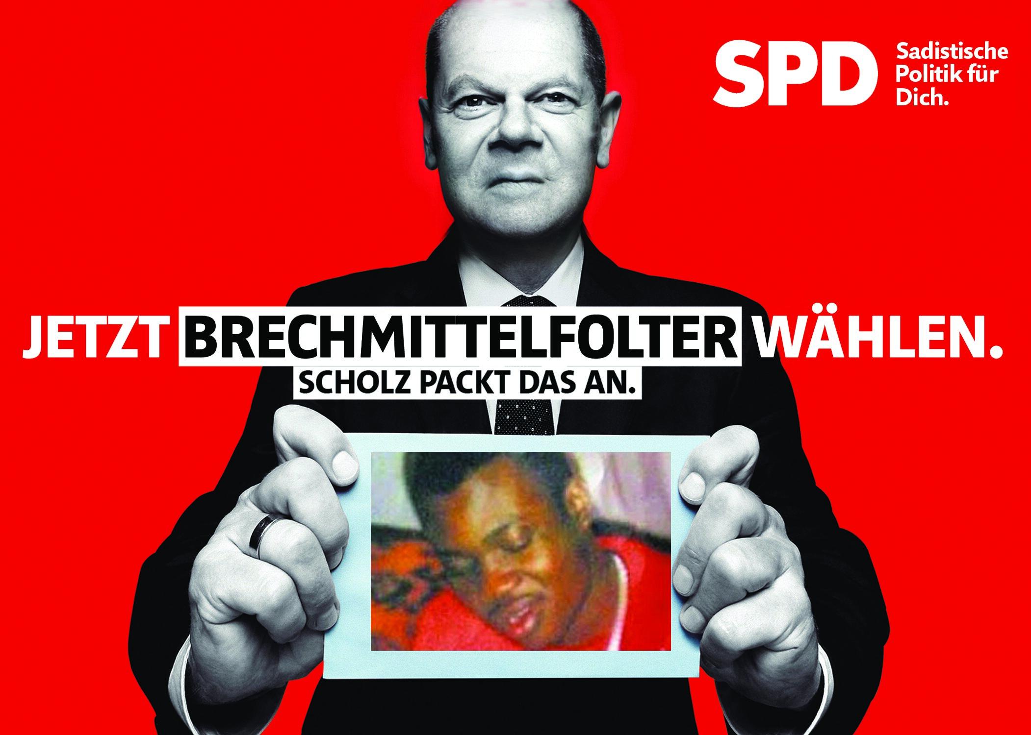 5x Scholz Postkarte