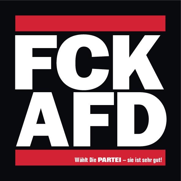 50 FCK AFD Aufkleber
