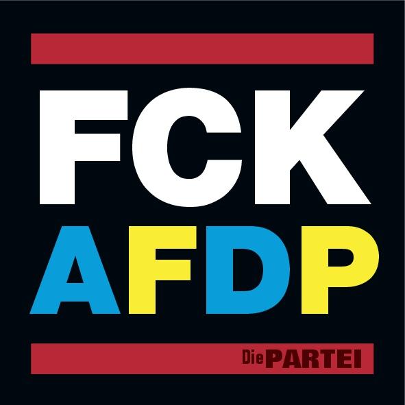 50 FCK AFDP Aufkleber